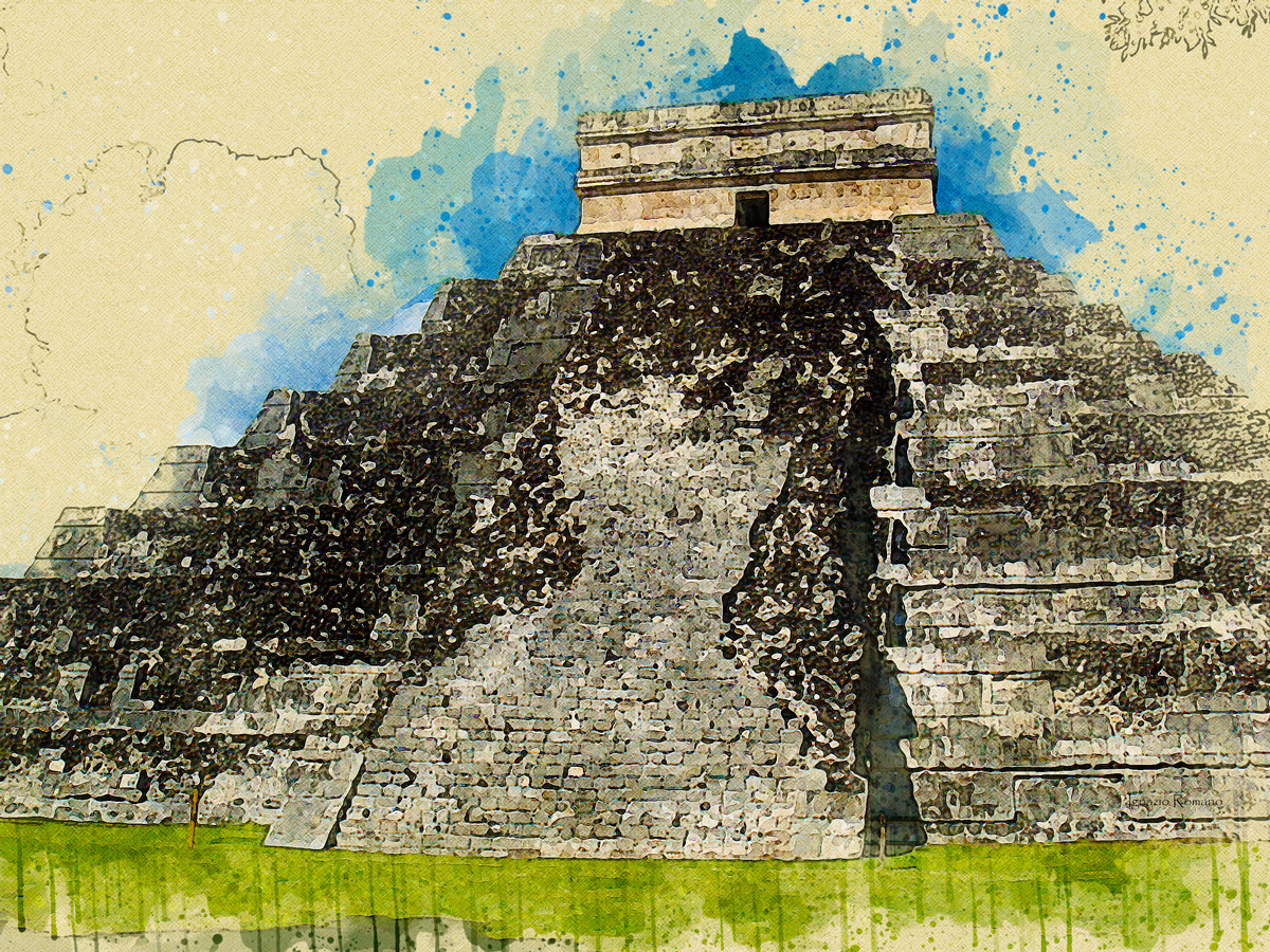 Chichén Itzá - Messico (Photo & Digital Art) | di Ignazio Romano